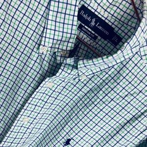 Polo Ralph Lauren Checked Oxford | Sz L